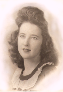 My Mom in 1944 age 20