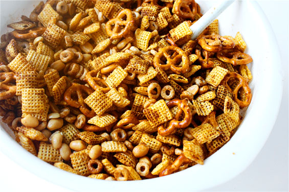 ... for cajun chex party mix - recipe , recipes , food, chicken Chex mix