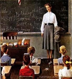 Norman-Rockwell-school