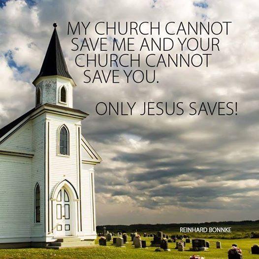 jesus saves church